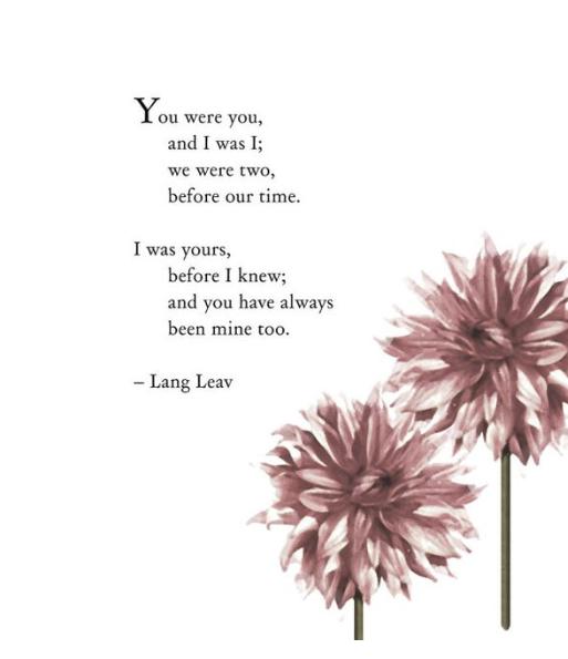 you were you